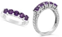 Macy's Amethyst (1-1/4 ct. t.w.) Ring in Sterling Silver (Also Available in Other Birthstones)