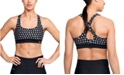 Under Armour Women's Printed Cross-Back Mid-Impact Sports Bra