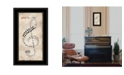 Trendy Decor 4U Trendy Decor 4U Play It by Marla Rae, Ready to hang Framed Print Collection