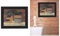 Trendy Decor 4U Trendy Decor 4u Hot Bath by Pam Britton, Printed Wall Art, Ready to Hang Collection