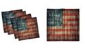 "Ambesonne USA Set of 4 Napkins, 12"" x 12"""