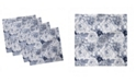 "Ambesonne Shabby Flora Set of 4 Napkins, 12"" x 12"""