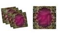 """Ambesonne Mandala Set of 4 Napkins, 12"""" x 12"""""""
