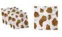 "Ambesonne Cow Print Set of 4 Napkins, 12"" x 12"""