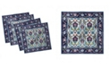 "Ambesonne Turkish Pattern Set of 4 Napkins, 12"" x 12"""
