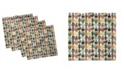 "Ambesonne Cactus Set of 4 Napkins, 18"" x 18"""