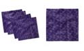 "Ambesonne Biloba Leaf Set of 4 Napkins, 18"" x 18"""