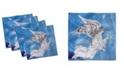 "Ambesonne Angel Wings Set of 4 Napkins, 18"" x 18"""