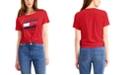 Tommy Hilfiger Logo Knot-Front T-Shirt