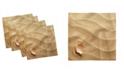 "Ambesonne Seashells Set of 4 Napkins, 18"" x 18"""