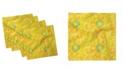 "Ambesonne Citrus Slices Set of 4 Napkins, 18"" x 18"""