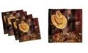"Ambesonne Western Set of 4 Napkins, 18"" x 18"""