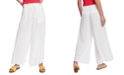1.STATE Crinkled Wide-Leg Pants