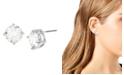 "Jessica Simpson CZ Stone Stud Earrings, 0.4"""