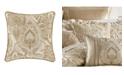 "J Queen New York Sandstone 20"" Square Decorative Pillow"