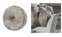 J Queen New York Desiree  Tufted Round Decorative Throw Pillow