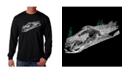 LA Pop Art Men's Word Art - Ski Long Sleeve T-Shirt