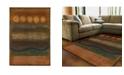 "JHB Design Kismet KIS013 Gold 4' x 5'9"" Area Rug"