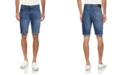 X-Ray Men's Roll Cuff Denim Short