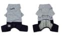 Touchdog Vogue Neck-Wrap Sweater and Denim Pant Outfit Medium