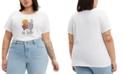 Levi's Trendy Plus Size Cotton Perfect Logo T-Shirt