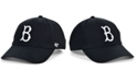 '47 Brand Brooklyn Dodgers Black White MVP Cap