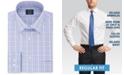 Arrow Men's Classic/Regular-Fit Non-Iron Performance Stretch Plaid Dress Shirt