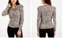 INC International Concepts INC Ruched Puff-Sleeve Top, Created for Macy's