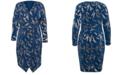 RACHEL Rachel Roy Plus Size Sylvia Printed Dress