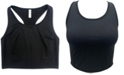 Ideology Long-Line Low-Impact Sports Bra, Created for Macy's