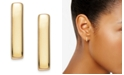 Giani Bernini 18k Gold over Sterling Silver Bar Stud Earrings
