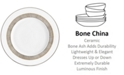 Vera Wang Wedgwood Gilded Weave Platinum Salad Plate