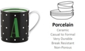 kate spade new york CLOSEOUT! Monogram Mug Collection