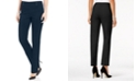 JM Collection Long Studded Tummy Control Pull-On Pants, Created for Macy's
