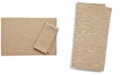 """Bardwil CLOSEOUT! Continental Collection 19"""" X 19"""" Taupe Napkin"""