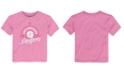 Majestic Toddler Girls' Los Angeles Dodgers Baseball T-Shirt