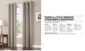 """Sun Zero Preston 40"""" x 95"""" Blackout Grommet Curtain Panel"""