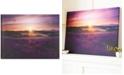 Graham & Brown Lavender Sunset Canvas Print