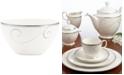 Noritake Dinnerware, Platinum Wave Rice Bowl