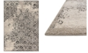 """Loloi Emory EB-01 Ivory/Charcoal 2'5""""x7'7"""" Runner Area Rug"""
