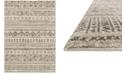 "Loloi Emory EB-10 Stone/Graphite 5'3""x7'7"" Area Rug"