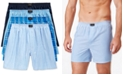 Jockey Men's 4 Pack Active Blend Woven Boxers