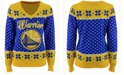 Forever Collectibles Women's Golden State Warriors Big Logo Ugly Sweater