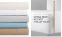 Sunham CLOSEOUT! Bainbridge 4-Pc Extra-Deep California King Sheet Set, 1400 Thread Count, Created for Macy's