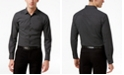 INC International Concepts I.N.C. Men's Micro-Square Slimfit Stretch Shirt, Created for Macy's