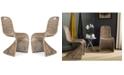 Safavieh Menon Set of 2 Wicker Dining Chairs