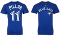 Majestic Men's Kevin Pillar Toronto Blue Jays Official Player T-Shirt