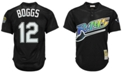 Mitchell & Ness Men's Wade Boggs Tampa Bay Rays Authentic Mesh Batting Practice V-Neck Jersey