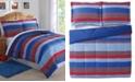 My World Sebastian Reversible 2-Pc. Stripe Twin Comforter Set