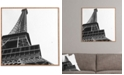 Deny Designs Khristian A Howell La Tour Eiffel Bamboo-Framed Wall Art